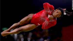 Simone Biles vault picture - Ryan Pierson Images